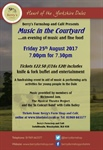 Music in the Courtyard Returns