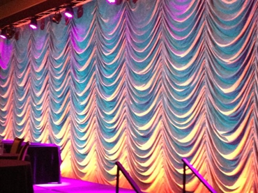 Stage drapes